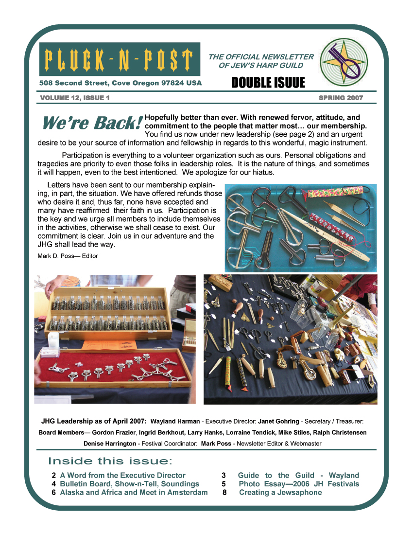 JHG Newsletters